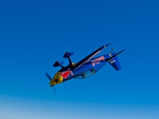 Get your blood pumping by experiencing aerobatics in the Red Baron Extra Aircraft Stunt Plane. The Extra Aircraft Stunt Plane has a top speed of 410 km/h, a climb rate of 2000 feet per minute and a staggering roll rate of 360 degrees per second.
